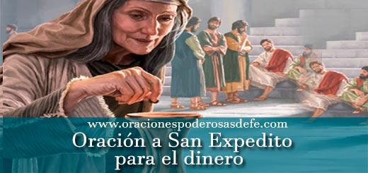 Oración a San Expedito para el dinero