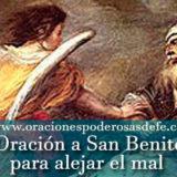Oración a San Benito para alejar el mal