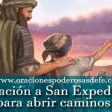 Oración a San Expedito para abrir caminos
