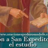 Oración a San Expedito para el estudio