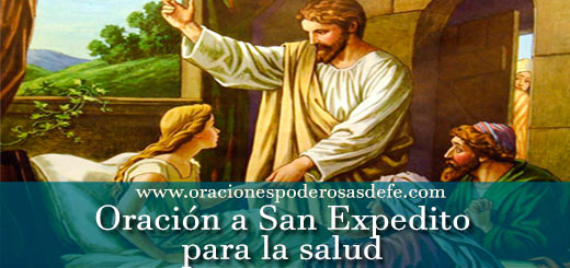 Oración a San Expedito para la salud