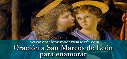 Oración a San Marcos para enamorar a alguien