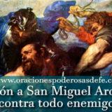 Oración a San Miguel Arcángel contra todo enemigo y maldad