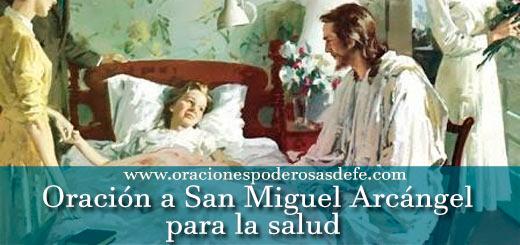 Oración a San Miguel Arcángel para la salud