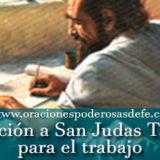 Oración poderosa a San Judas Tadeo por el trabajo