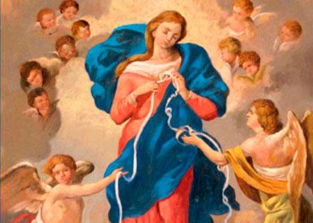Oración poderosa a la Virgen Desatanudos