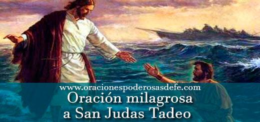 Efectiva oración milagrosa a San Judas Tadeo