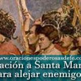 Oración poderosa a Santa Marta para alejar enemigos