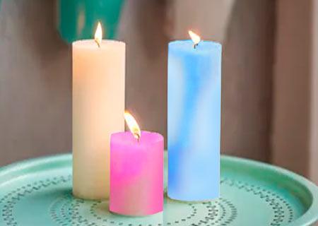 virgen del rosario vela