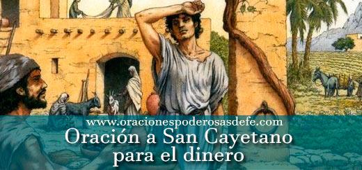 Oración a San Cayetano para el dinero