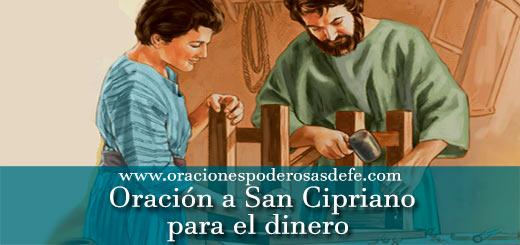 2 oraciones a San Cipriano para el dinero