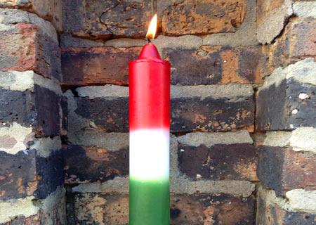 San Jorge vela