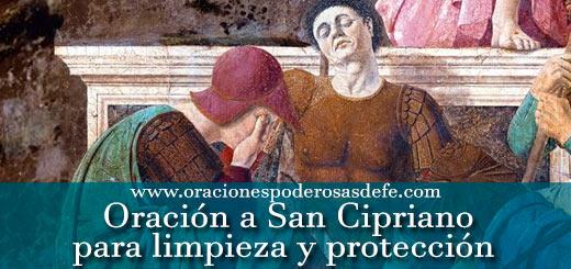 Oración a San Cipriano para limpieza y protección