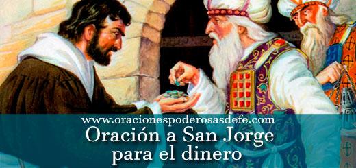 Oración a San Jorge para el dinero