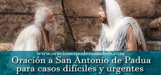 Oración a San Antonio de Padua para casos difíciles y urgentes