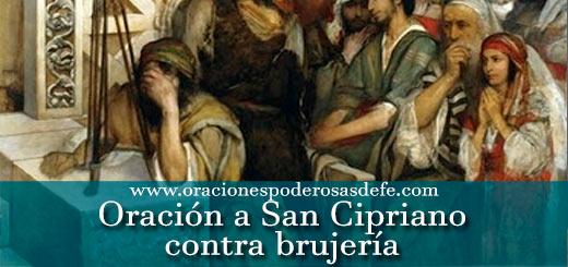 Oración a San Cipriano para protección contra brujería