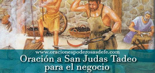 Oración a San Judas Tadeo para el negocio