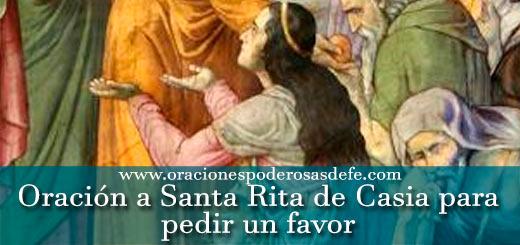 Oración a Santa Rita de Casia para pedir un favor