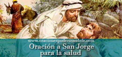 Oración a San Jorge para la salud