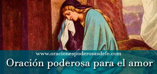 Oración poderosa para el amor