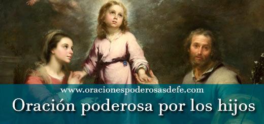 Oración poderosa por los hijos